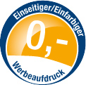 0 Euro Webeaufdruck