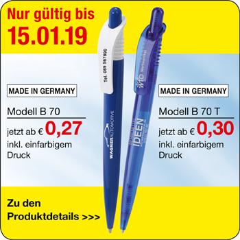 Preisinformationen B70/B70T