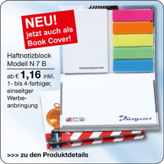 N7B mit Bookcover