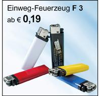 Feuerzeug F3