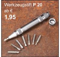 Werkzeugstift P20
