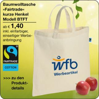 Fairtrade Tasche Baumwolle