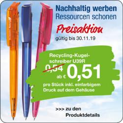 Recycling-Kugelschreiber U39R
